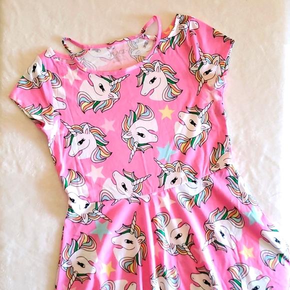 Children's Place Unicorn 🦄 Skater Dress